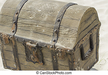 Treasure Chest - Old style treasure chest that looks like...