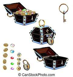 treasure chest set