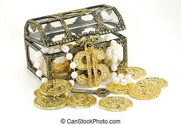 Treasure Chest - Photo of a Treasure Chest - Financial...