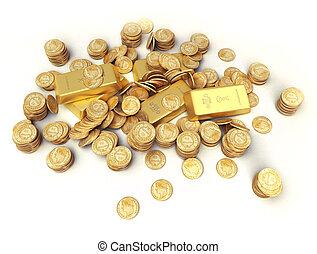 Treasure in gold