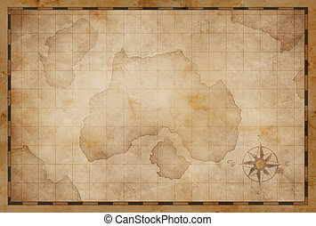 treasure island pirates old map - treasure island pirates...