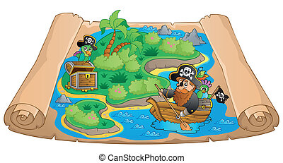 Treasure map topic image 1