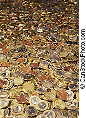 Treasure Room - Bathtub full of Euro Coins.