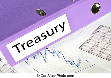 TREASURY  folder on a market report