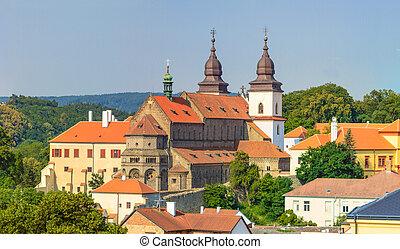 Trebic, old monastery and St. Procopus Basilica (a UNESCO...
