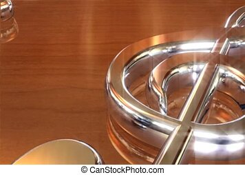 Treble Clef in Silver