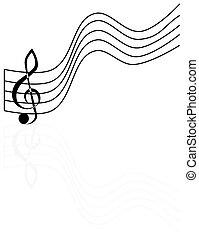 treble clef,