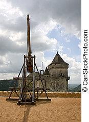 Trebuchet in Castelnaud, France