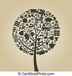Tree agriculture