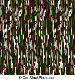 Tree bark texture. Seamless vector background. - Tree bark...