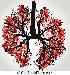 Tree Branches Like Lungs