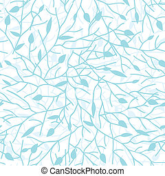 Tree branches seamless pattern background