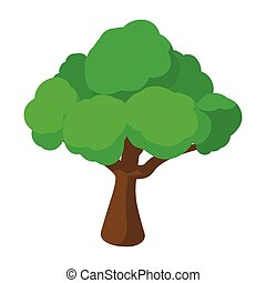 Tree cartoon icon