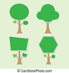 Tree concept vector