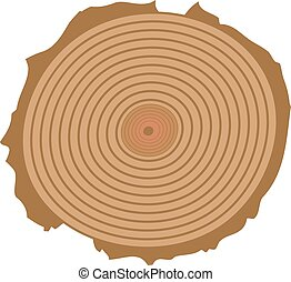 tree cut vector