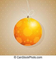 Tree decoration card