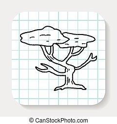 tree doodle