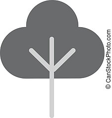 Tree Flat Vector Icon