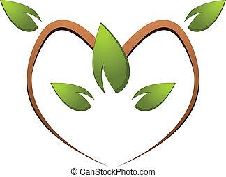 Tree green nature logo