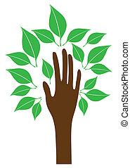 tree hand