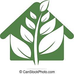 Tree House logo design.