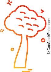 Tree icon design vector