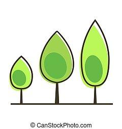 Tree icon vector illustration