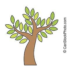Tree icon vector