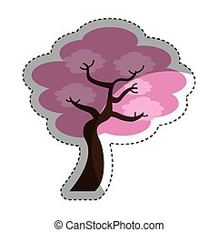tree japanese traditional icon