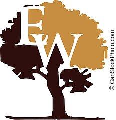 Tree Letter E W
