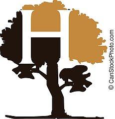 Tree Letter H