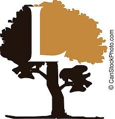 Tree Letter L