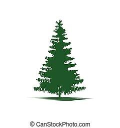 Tree logo template nature icon design - vector