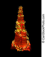 Tree of Christmas presents