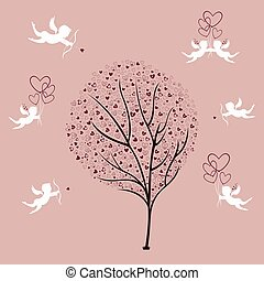 Tree of Love and Angels