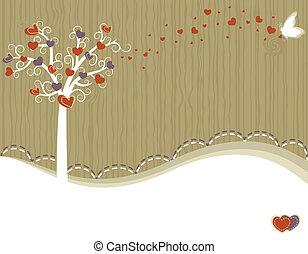 Tree of Love - greeting card