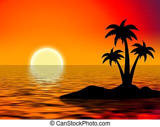 tree palms