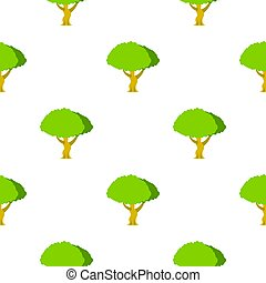 Tree pattern flat