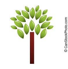 tree plant ecology symbol