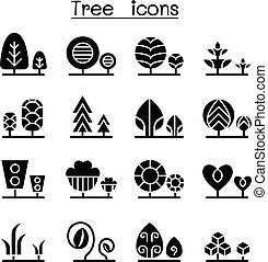 Tree & Plant icon set