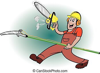 Tree Pruner - A tree cutting worker