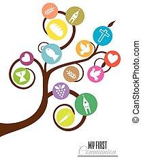Tree religious icons