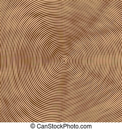 Tree rings vector background