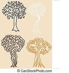 Tree Swirls