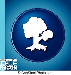 tree symbol icon. nature sign