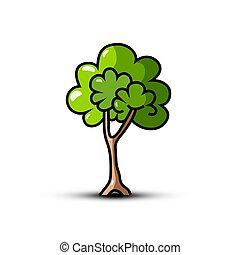Tree Symbol - Vector Icon