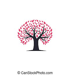 Tree symbol vector icon