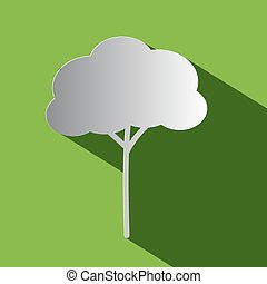 Tree - Vector Flat Design Icon