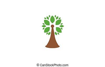 tree vector icon design