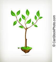 Tree, vector